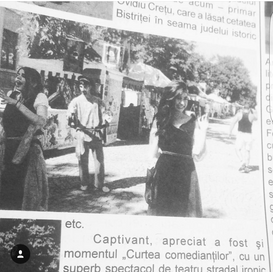 Medieval Theater Festival Nespaper Article