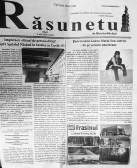 """""""Rasunetul"""" Bistrita Newspaper"""