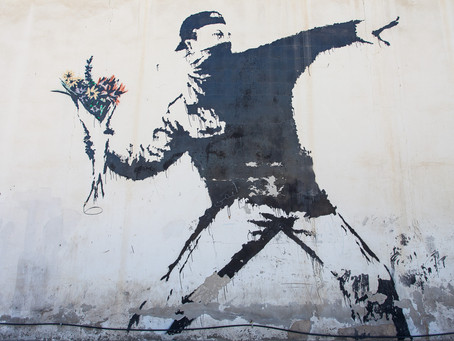 The Artful Transformation of Human Suffering: Banksy and Buddhist Art
