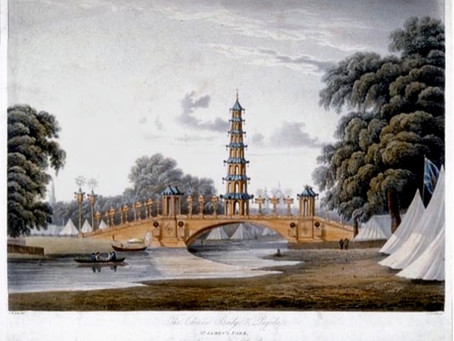 The Secularization of Pagoda Imagery in 18th Century Europe and China