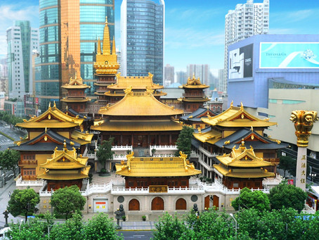 Buddhism and Abundance: Monastery of Tranquillity and Peace (Jing'an Monastery) in Shanghai
