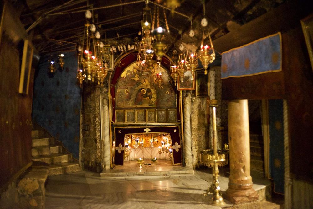 Nativity Grotto, Bethlehem. Photo by gpo1961. From flickr.com