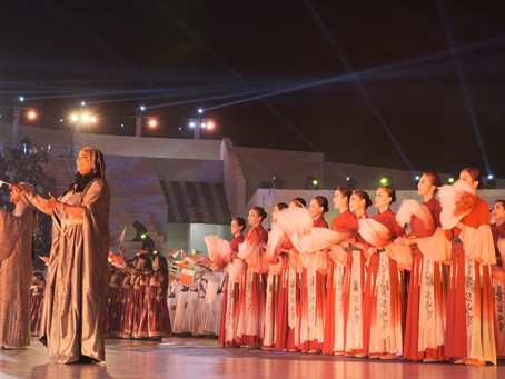 Classical Chinese Dance at 2018 Qatar National Day