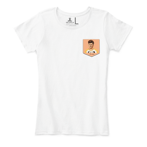 Kennedy in a Pocket Playera para Mujer