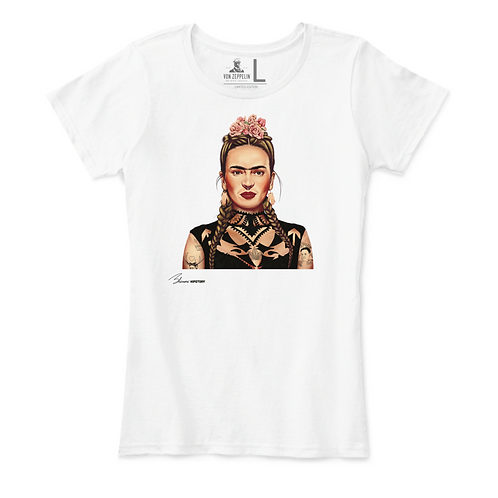 Frida Kahlo Playera para Mujer