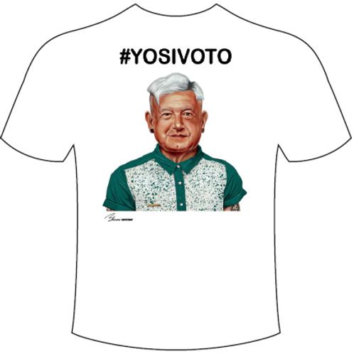 Paquete de 5 estampas #YOSIVOTO Peje