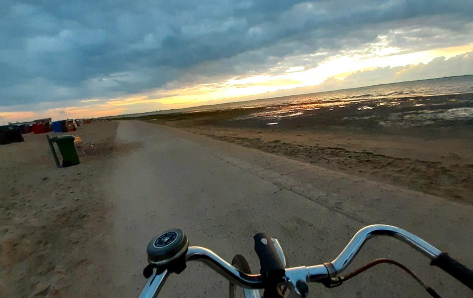 Traumhafte Abendtour auf dem Rad