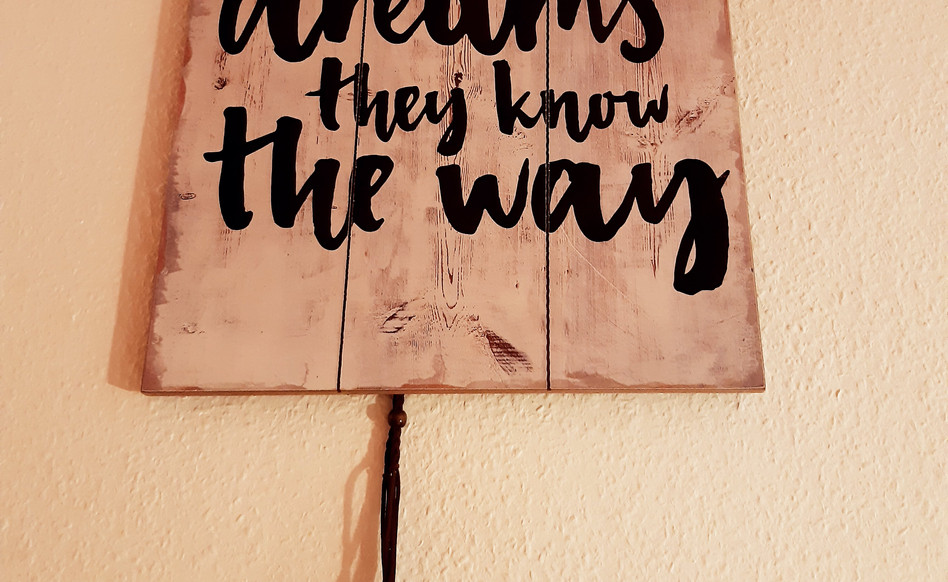 """""""Follow yout dreams, they know the way"""""""