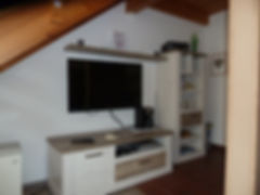 TV- Ecke der Ferienwohnung