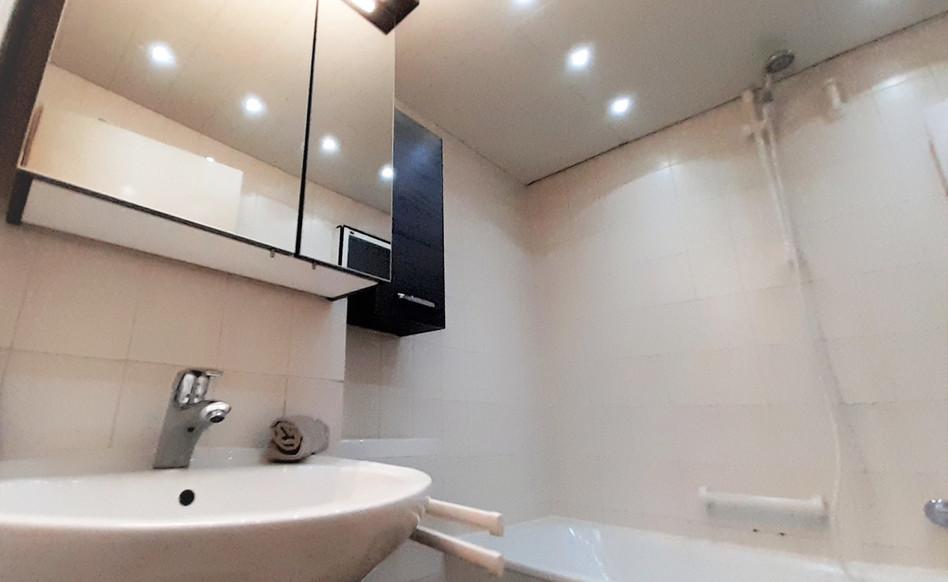 Weitere Ansicht des Badezimmers