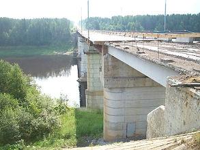 Реконструкция моста р.Сухона