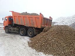 Доставка щебня Приводино