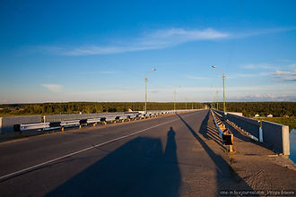 Мост река Сухона