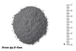 песок из отсевов дробления (отсев) 0-5 в усинске