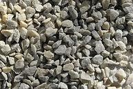 Мраморный щебень серый