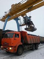 Выгрузка щебня в Приводино