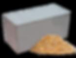 Опилкобетонный блок