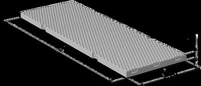 Плита аэродромная ПАГ20Ат800 Великий Устюг