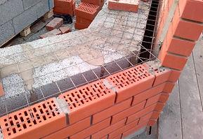 колодцевая кладка стеновых блоков