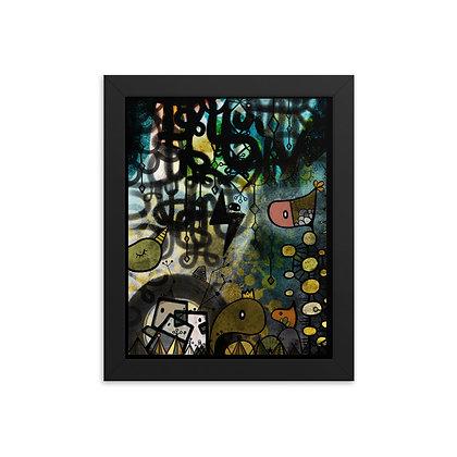 Dark Night Framed Poster