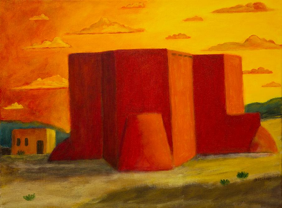 """""""Ranchos de Taos Church"""""""