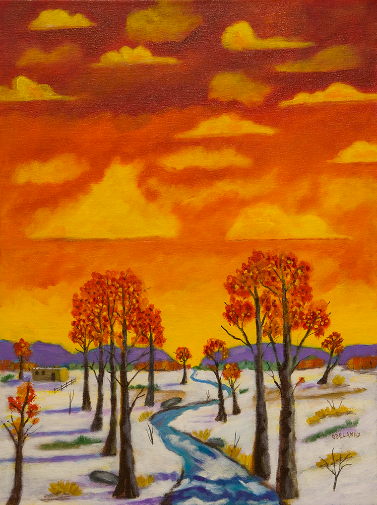 """Winter Sunset"""