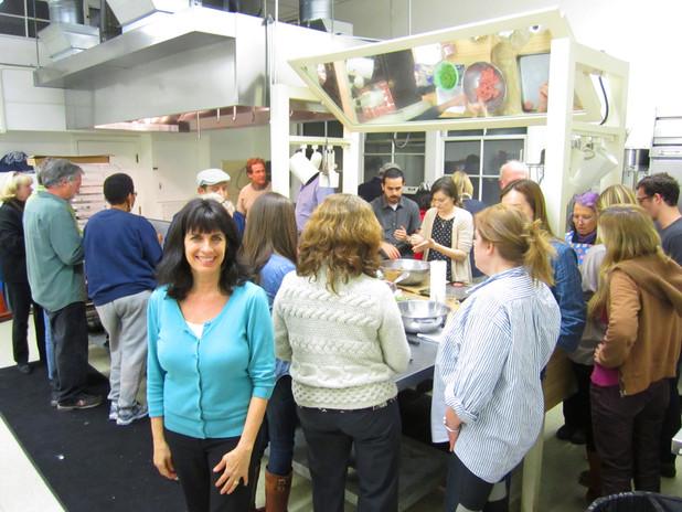 "Cynthia Daddona (""AphFoodite's"") Mediterranean Date Nights Cooking Class"