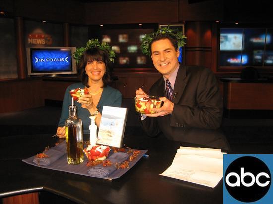 Cynthia Daddona interviewed on ABC-TV