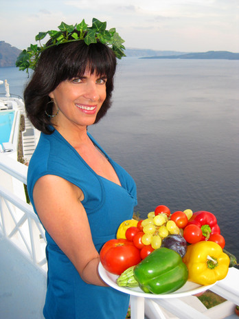 Cynthia Daddona and food in the Mediterranean