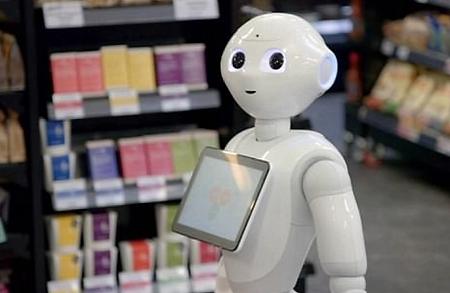 Robot promoción de productos con un robot PiRobot