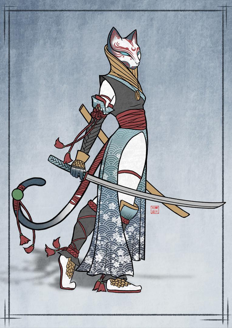 Ninja Oni Neko