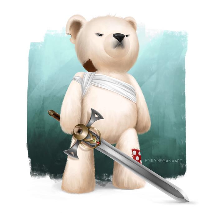 Polar Bear Character