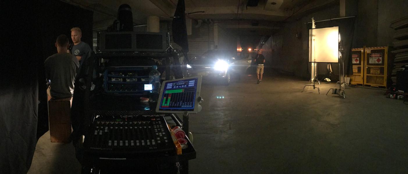 TVC shoot in the SCG