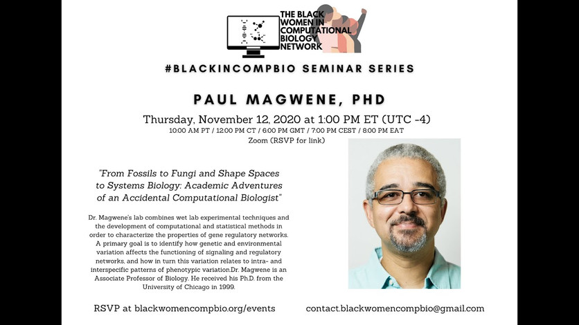 Paul Magwene, Ph.D. (Duke University)