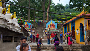 Dag 2 av Nepal Tibet tur