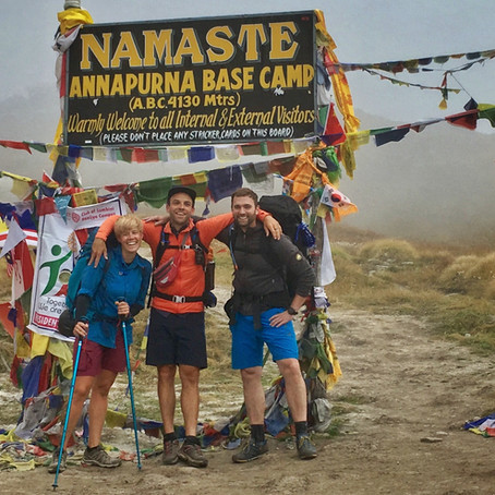 "Nepal - ""Crosstraining"" aka. trekking to the Annapurna Base Camp and back"