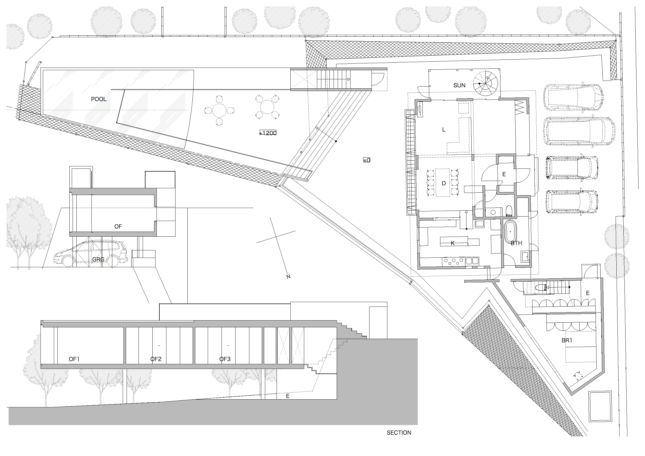 House in Furutadai Plan