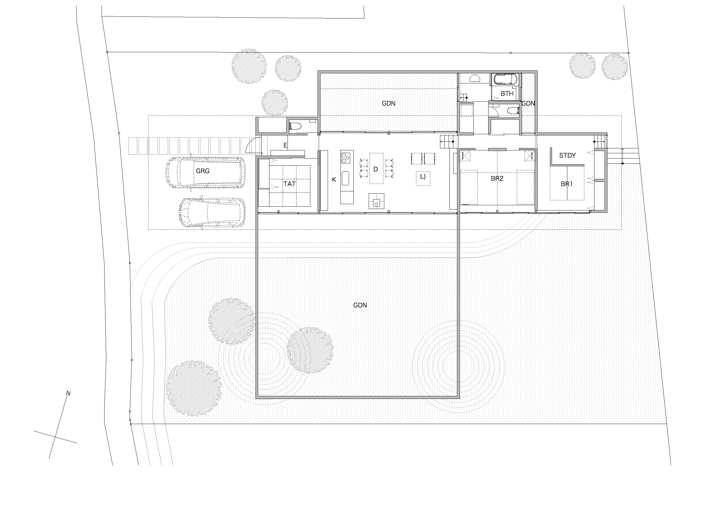 House in Mito Plan