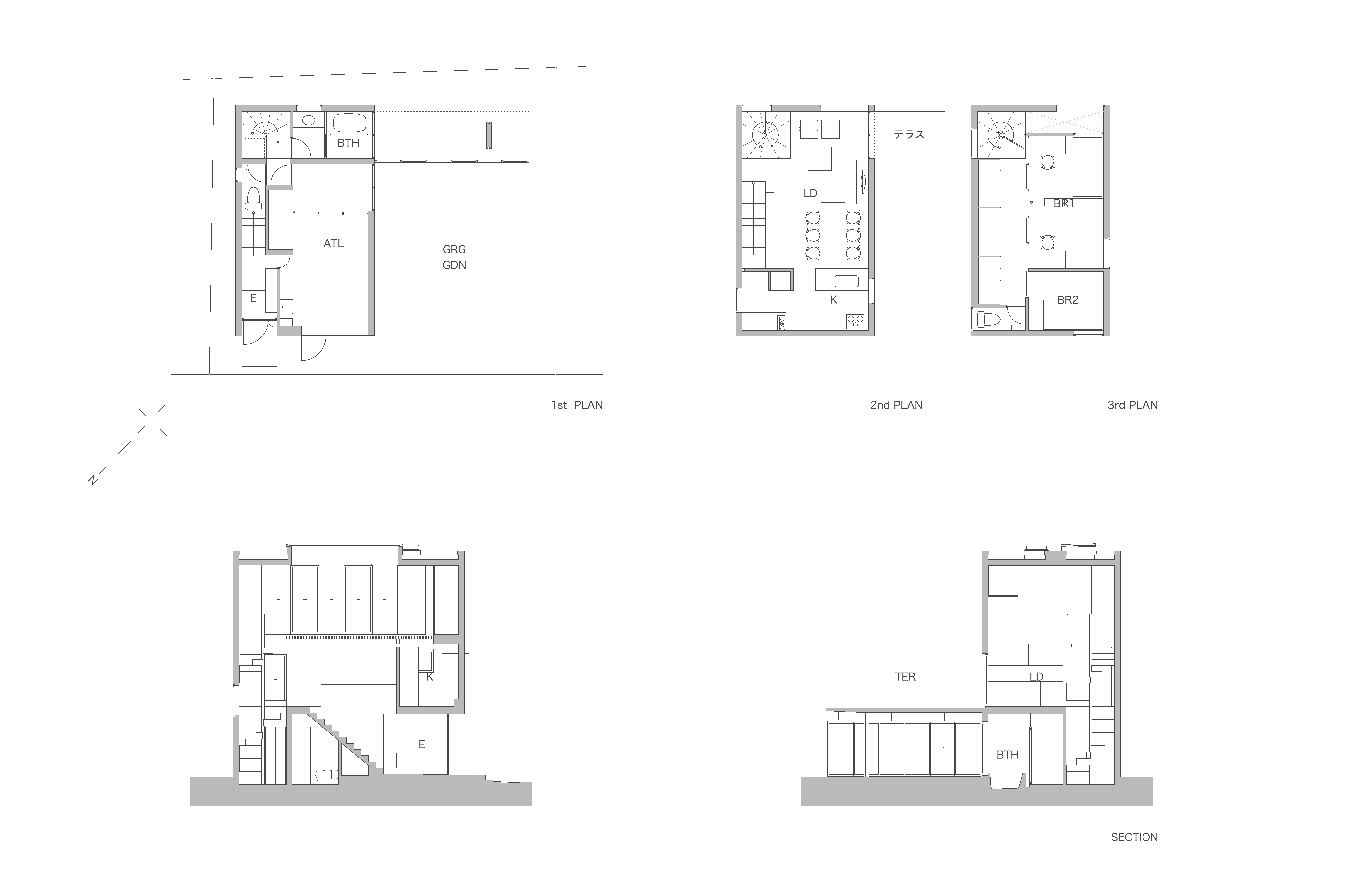 House in Kohgo Plan