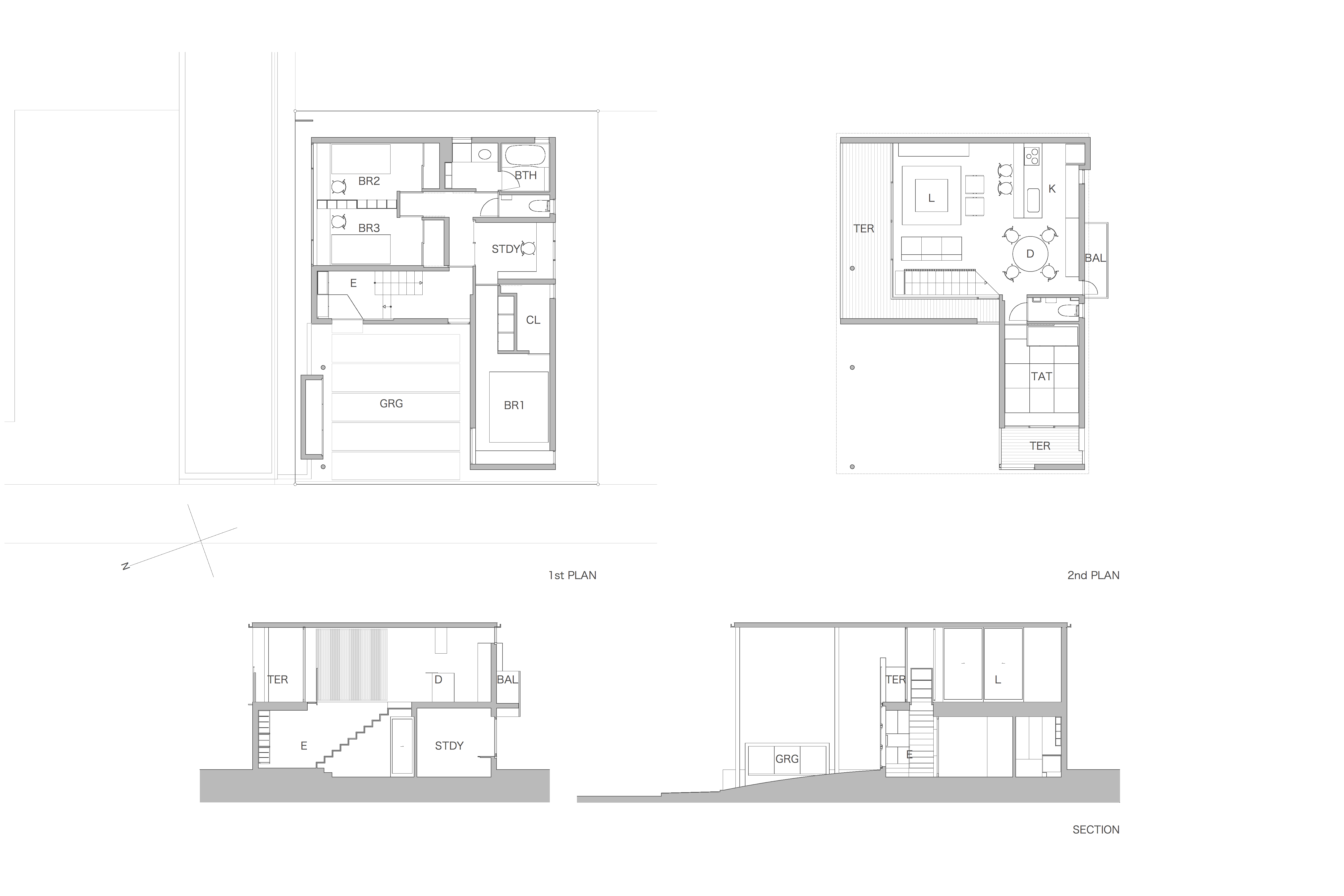 House in Sumiyoshi Plan