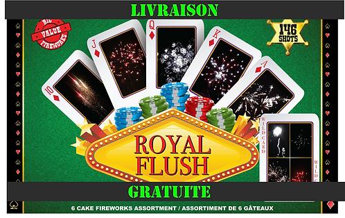 ROYAL FLUSH 146 COUPS EXPÉDITION GRATUITE