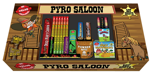 PYRO SALOON 107 COUPS