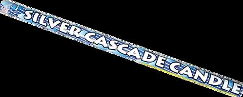 SILVER CASCADE CANDLE