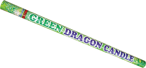 GREEN DRAGON CANDLE