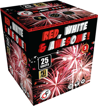 RED, WHITE AND AWESOME