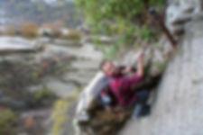 climbing up to Huashan