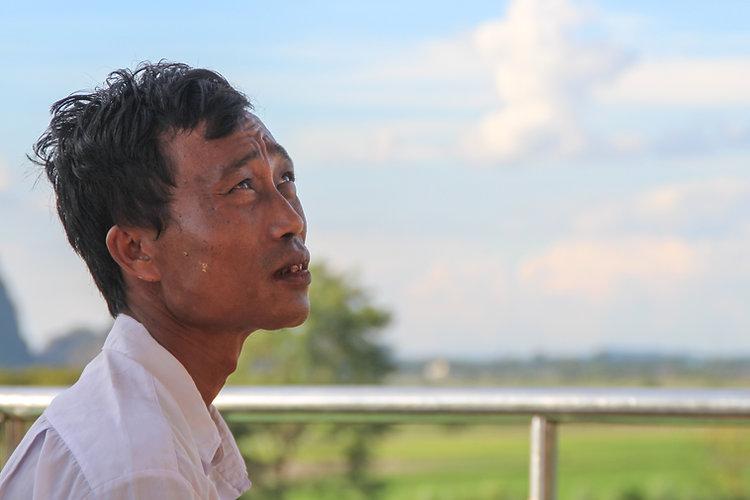 portarit of a Burmese man