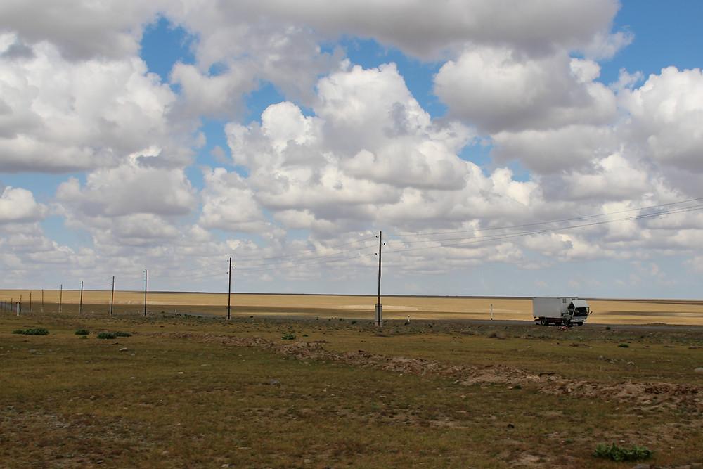 on the road between Sentyab and Asraf, Nurata