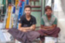 two young Burmese guys