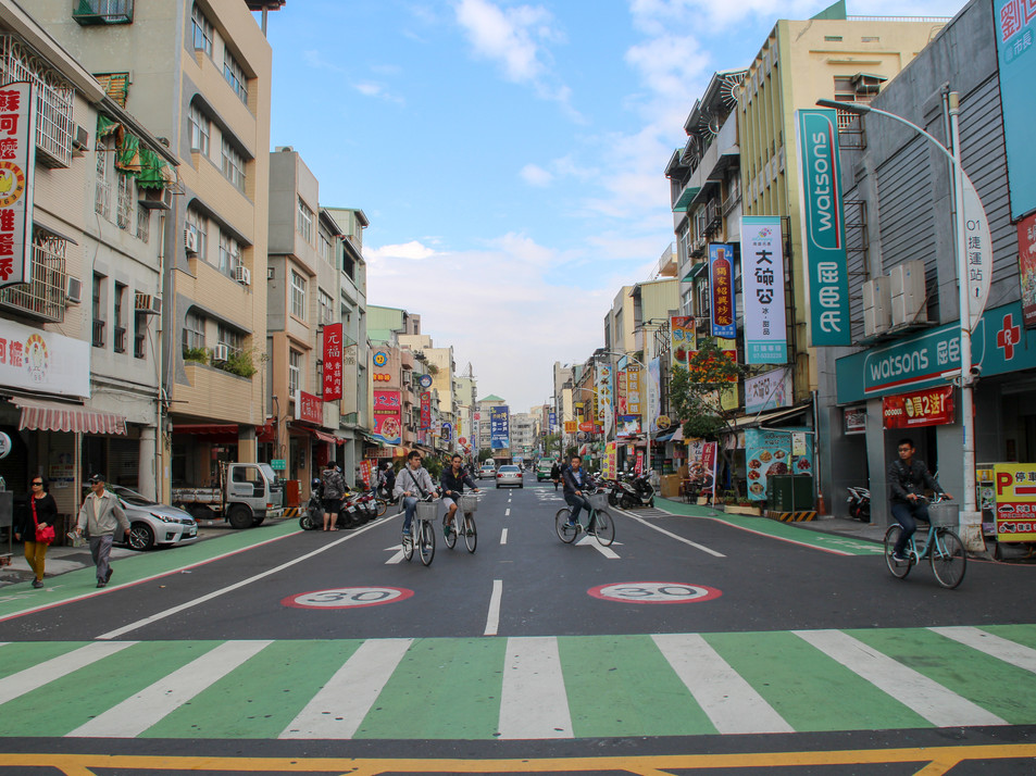Kaohsiung's streets